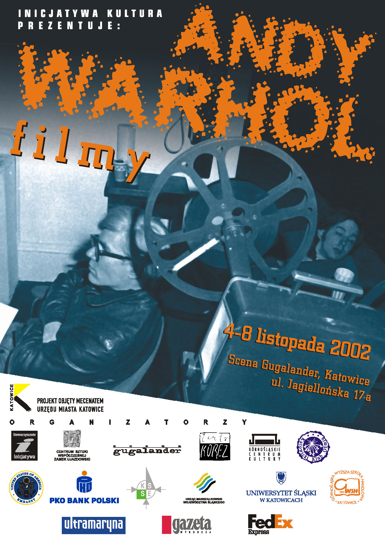 ANDY WARHOL.FILMY