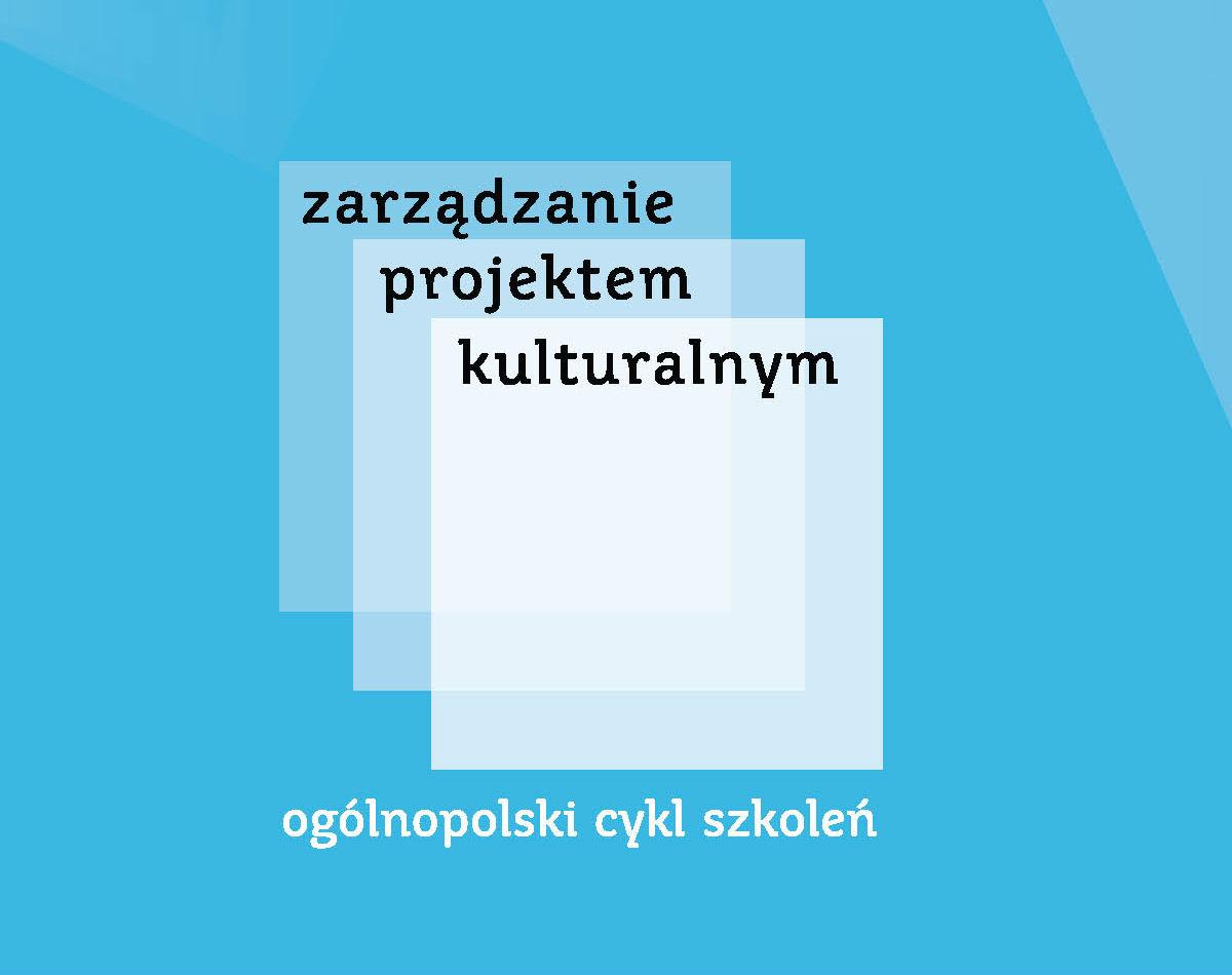 Zarządzanie projektem kulturalnym_logo